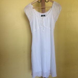 Women\'s White Eyelet Dress Plus Size on Poshmark